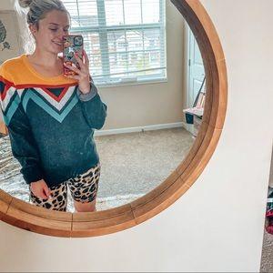 Falls creek tribal sweater size large
